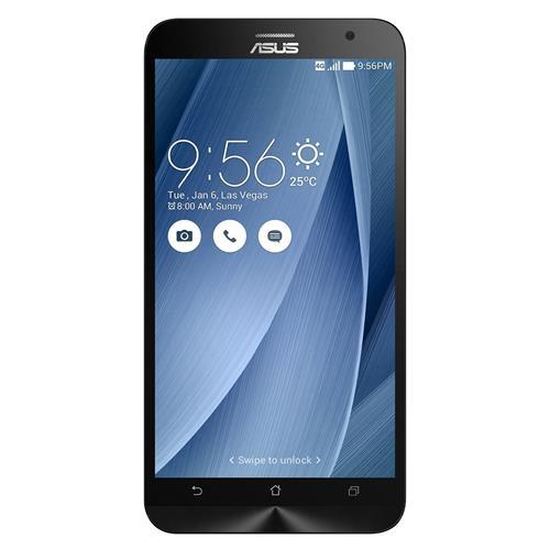 "Asus Zenfone 2 5.5"" 64GB Unlocked Dual SIM Smartphone, Silver, English, Refurbished (ZE551ML-23-4G64GN-SR)"