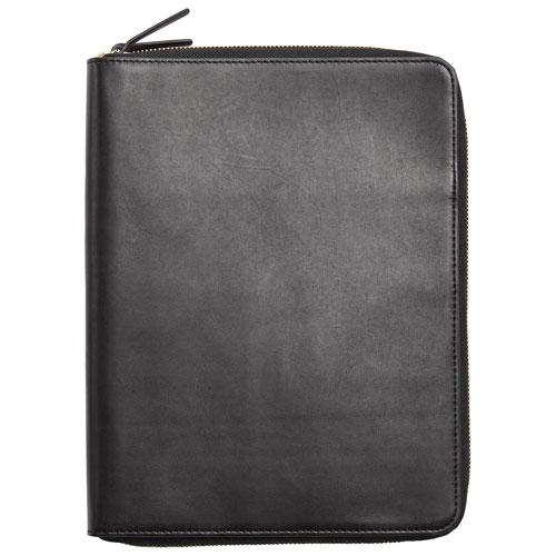 Skagen Clausen iPad Leather Folio Case - Black