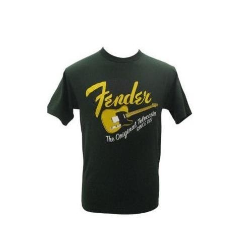 Fender Original Tele T Shirt - Green, Large