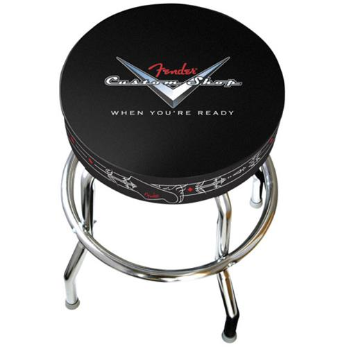 "Fender Custom Shop Pinstripe Barstool - 30"""