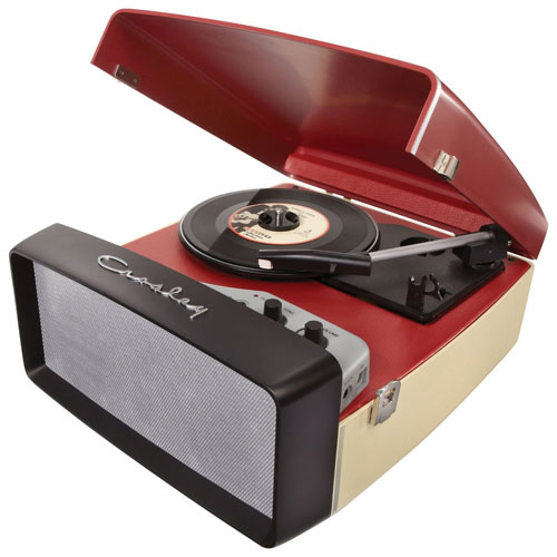 Crosley Collegiate Belt Drive USB Turntable - Red
