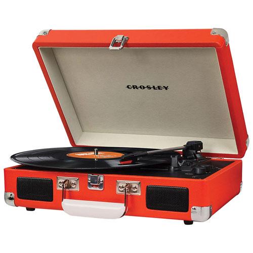 Crosley Cruiser Belt Drive Portable Turntable - Orange
