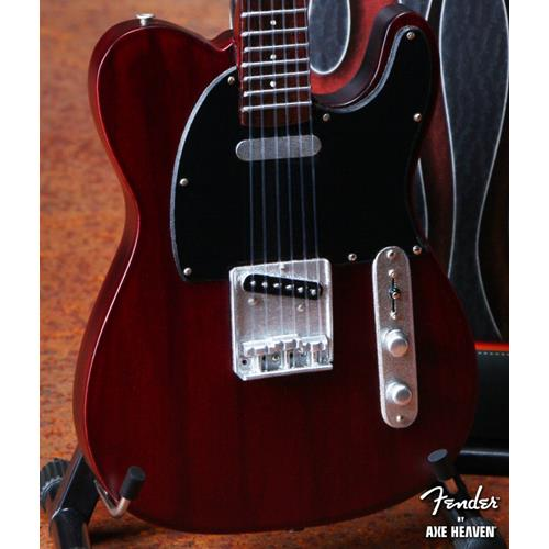 Axe Heaven FT-004 Officially Licensed Miniature Fender Telecaster Guitar Replica Collectible - Rosewood