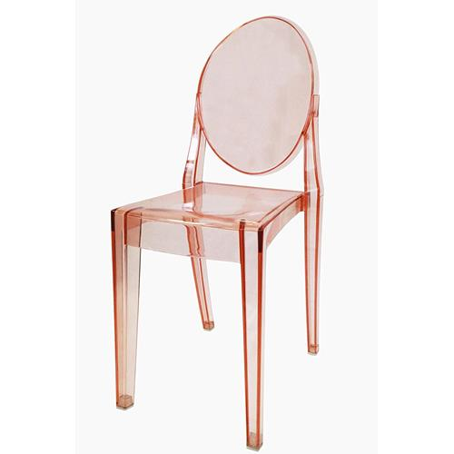 Nicer Furniture? 4 Philippe Starck Louis XVI Ghost Side Chair Modern  Victoria Dining Chair Plastic In Transparent Pink : Dining Chairs   Best  Buy Canada