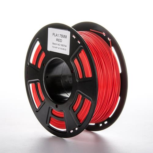 NEXTPAGE High Glossy PLA 1.75mm 1KG 3D Printer Filament Dimensional Accuracy +/- 0.05mm, 2.2LBS Spool Red