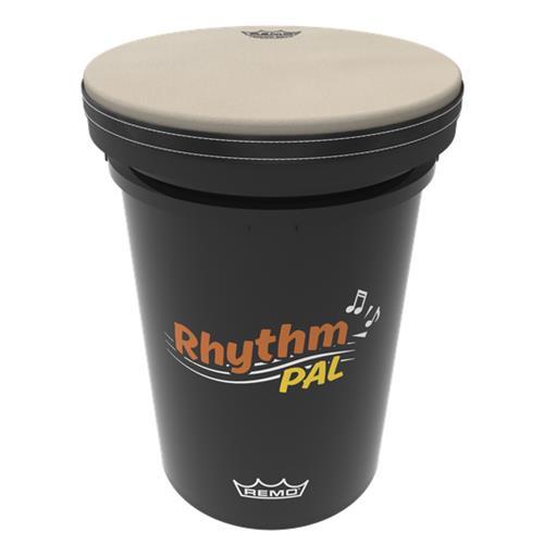 "Remo Rhythm Pal Drum with Comfort Sound Technology - Black, 13"""