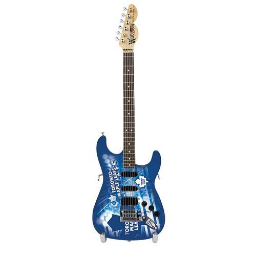 "Toronto Maple Leafs 10"" Collectible Mini Guitar"