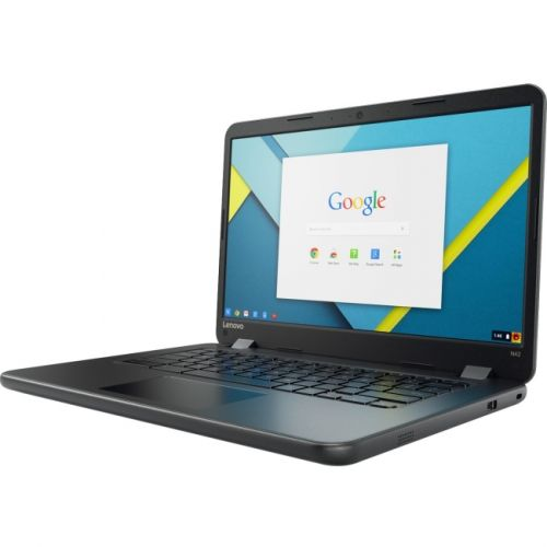 "Lenovo N42-20 80VJ0000US 14"" Touchscreen (Twisted nematic (TN)) Chromebook - Intel Celeron N3060 (2 Core) 1.60 GHz"