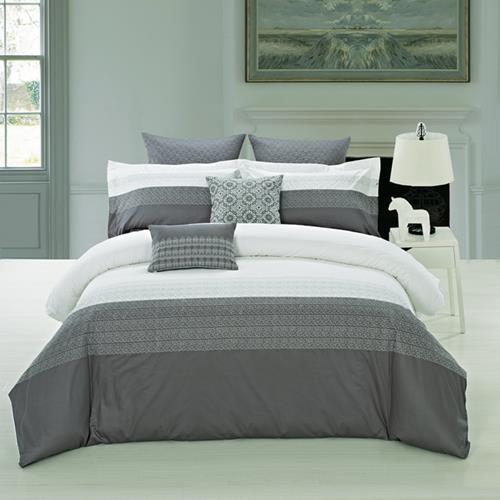 North Home Interlock Duvet Cover (King)