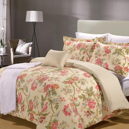 North Home Tea Time 8-piece Duvet Cover (Queen)