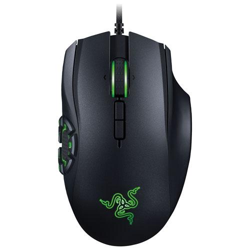Razer Naga Hex V2 16000 DPI Wired Laser Gaming Mouse - Black