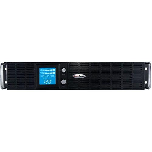 CyberPower Smart App Intelligent LCD OR2200LCDRTXL2U 2190 VA Tower/Rack-mountable UPS
