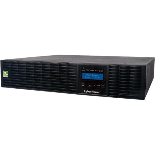 CyberPower Smart App Online OL2000RTXL2U 2000VA 100-125V Pure Sine Wave LCD Rack/Tower UPS