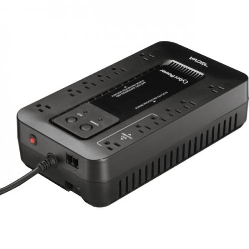 CyberPower Ecologic EC750G 750VA/425W Energy Efficient Desktop ECO UPS