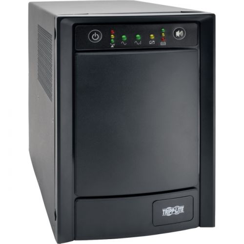 Tripp Lite 1000VA 650W UPS Smart SMC1000 T Pure Sine Wave AVR Tower USB DB9