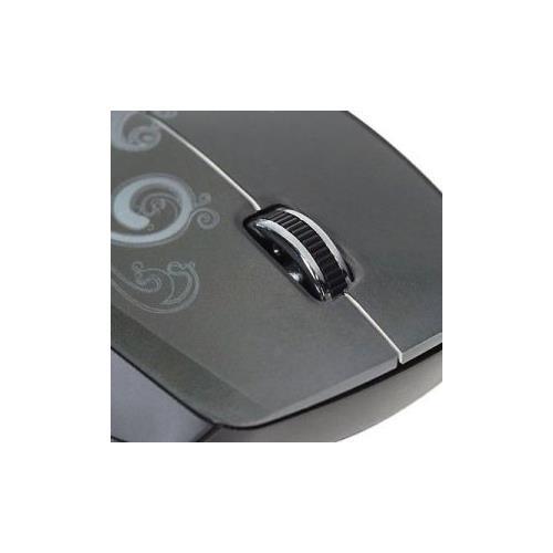 Verbatim Wireless Notebook Optical Mouse, Design Series - Graphite