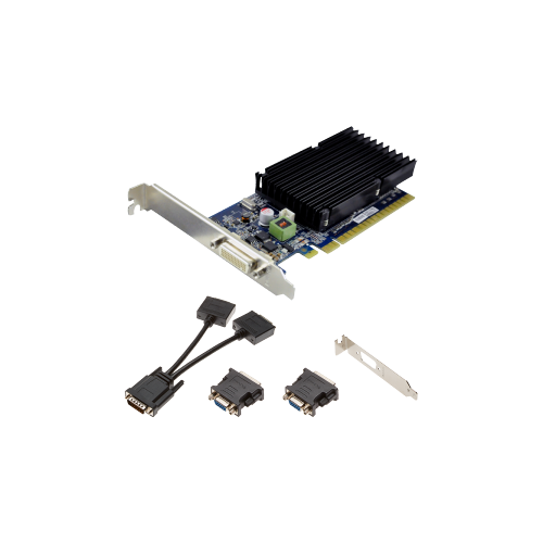 PNY GeForce 8400 GS Graphic Card - 1 GB GDDR3 SDRAM - PCI Express x16 - Low-profile - Single Slot Space Required
