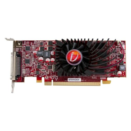 Visiontek 900366 Radeon HD 5570 Graphic Card - 1 GB DDR3 SDRAM - PCI Express 2.0 x16 - Low-profile - Single Slot Space