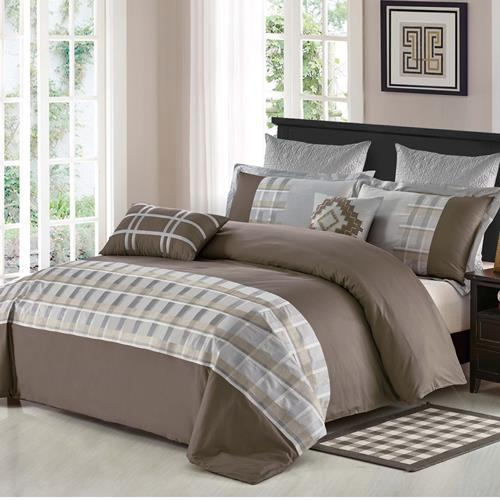 North Home Stanwick 7-piece Duvet Cover (Queen)