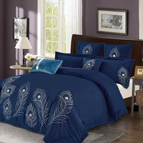 North Home Plume 7-piece Duvet Cover (King)
