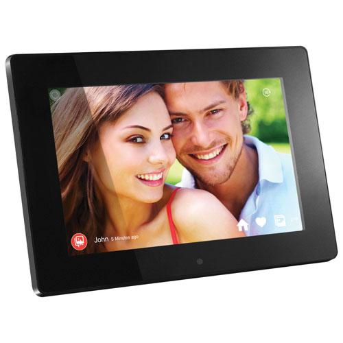 """Aluratek 10"""" 8GB Digital Photo Frame with WiFi (AWDMPF110F) - Black"""