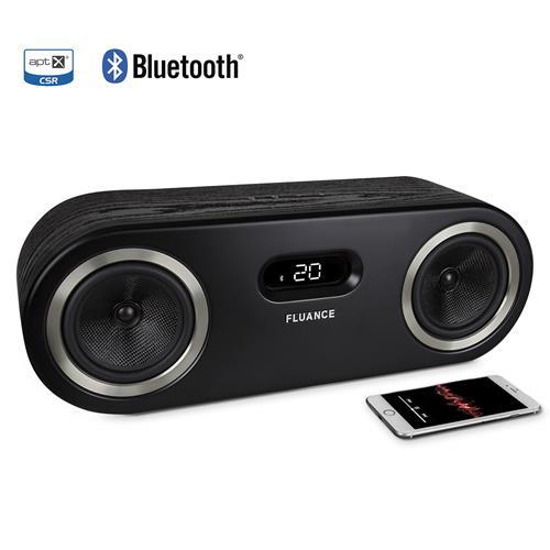 Fluance Fi50 Two-Way High Performance Wireless Bluetooth Premium Wood Speaker