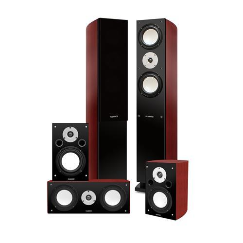 Fluance XLHTB High Performance 5 Speaker Surround Sound Home Theater System