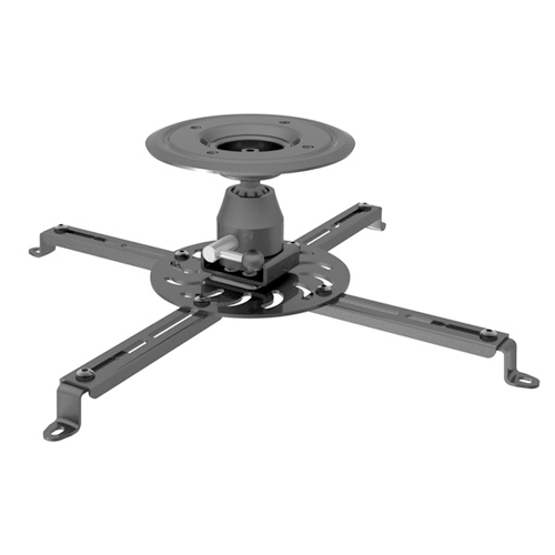 GlobalTone Universal Ceiling Projector Mount Holds up to 55 lbs Black Steel