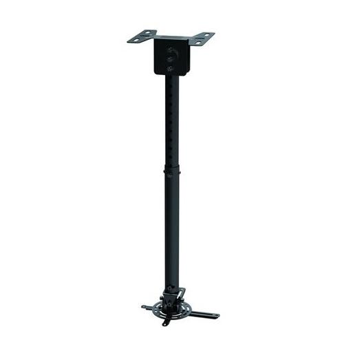 """GlobalTone Support de Projecteur Universel au Plafond Extensible 22.6"""" ? 32.5"""" Noir Max 44 Lbs"""