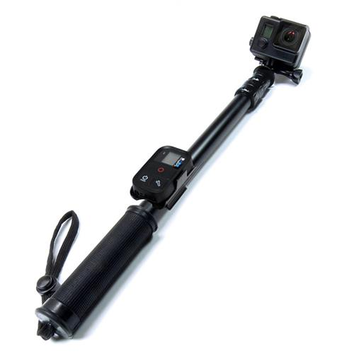 SANDMARC Pole - Black Edition: 42-103 cm Waterproof Telescoping Extension Pole(Stick) for GoPro Hero 5, 4, 3, 2 & HD Cameras