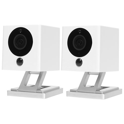 iSmartAlarm Spot Wi-Fi Indoor 720p Add-On Security Camera - 2 Pack - White