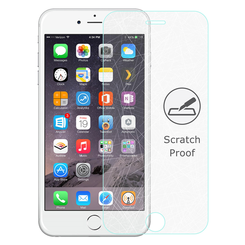 Caseco Screen Patrol - iPhone 6/6S Plus Tempered Glass Screen Protector