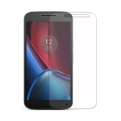 Caseco Screen Patrol - Moto G4 Plus Tempered Glass Screen Protector