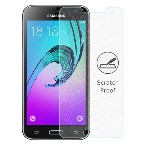 Caseco Screen Patrol - Galaxy J3 Tempered Glass Screen Protector
