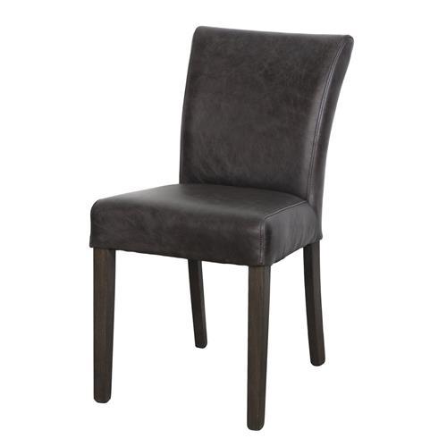 Sensational Black Top Grain Leather Low Back Chair Creativecarmelina Interior Chair Design Creativecarmelinacom