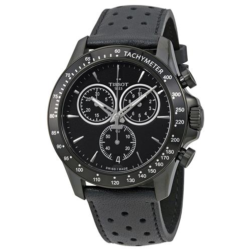 fa3df0fae2a Tissot T-Sport V8 Chronograph Black Dial Mens Watch T106.417.36.051.00 -  Online Only