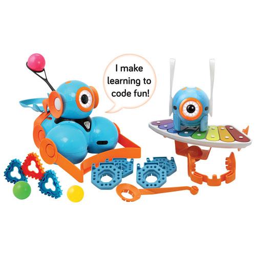 Ensemble Dash & Dot Robot Wonder Pack de Wonder Workshop - Turquoise