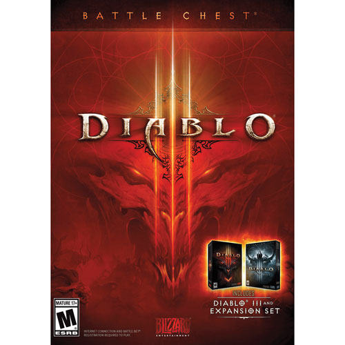 Diablo III Battle Chest (PC/Mac) - Anglais