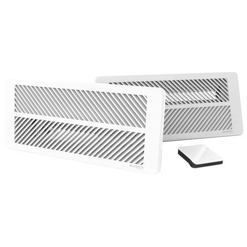 """Keen Home Smart Vent Starter Kit - 4"""" x 10"""" - White"""