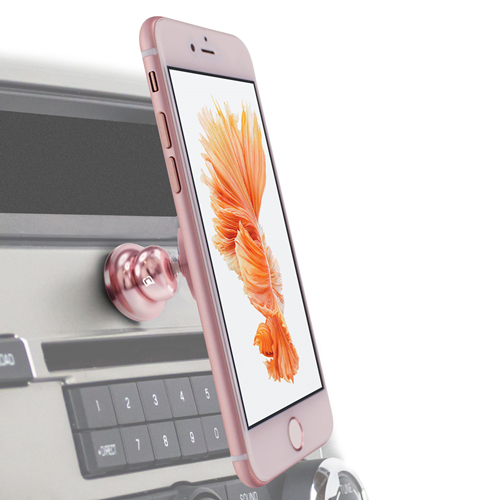 Caseco Core 360 Magnetic Car Mount for iPhone and Android ? Rose Gold