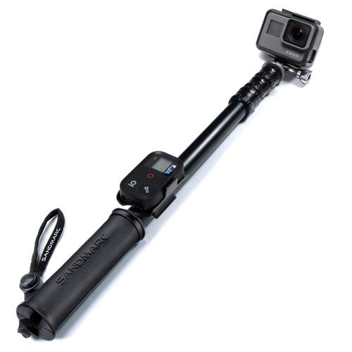 SANDMARC Pole - Metal Edition: 38-127 cm Professional All-Aluminum Waterproof Extension Pole / Stick for GoPro Hero 5, 4, 3, 2