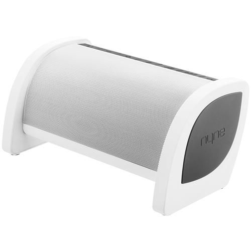 NYNE Multimedia Inc Bass Portable Bluetooth Speaker (White/Grey)