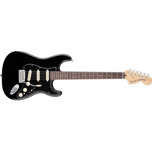 Fender Deluxe Stratocaster - Black, Rosewood Fingerboard