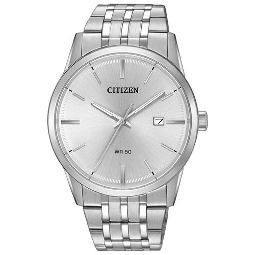 Citizen Quartz 39mm Men S Dress Watch Silver