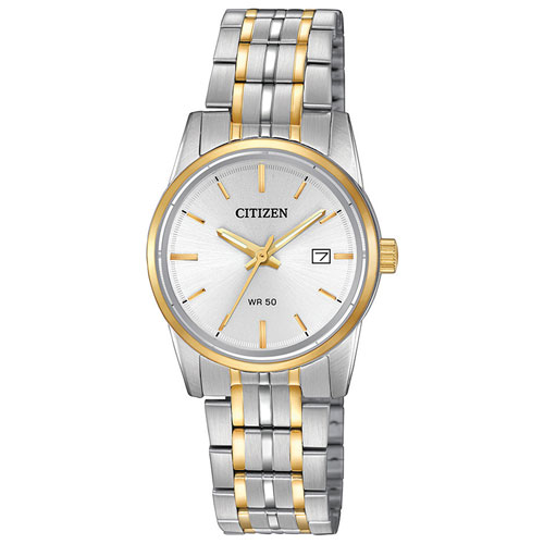 Citizen Quartz 27mm Women s Dress Watch - Silver Gold - Online Only 412e6abc520b