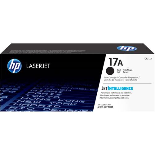 Encre en poudre noire LaserJet 17A de HP (CF217A)