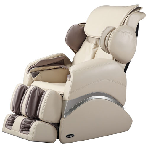 icomfort power recliner massage chair beige massage