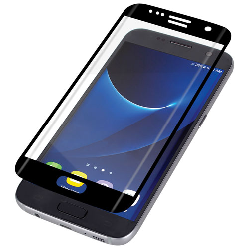InvisibleShield by ZAGG Glass Curve Galaxy S7 Edge Screen Protector