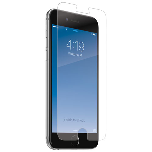 InvisibleShield by ZAGG Sapphire Defense iPhone 6/6S/7/8 Glass Screen Protector