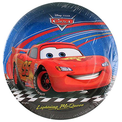 Disney Pixar Cars 2 Dinner Plates [8 Per Pack]